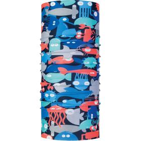 Buff Coolnet UV+ Neck Tube Kids shoal blue